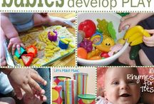 Activities for Infants / Activities for infants for increasing their development and spicing up playtime.