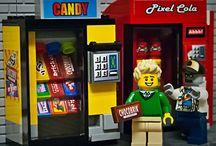 Lego vending machines