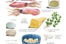 Food illustrestion