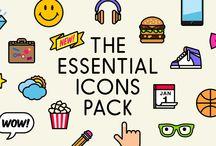 Iconset / Webdesign / Reference