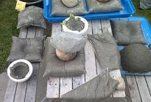pojemniki betonowe