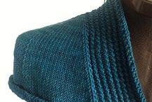 Спицы вязание от горловинв
