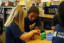 Skole - kunst og håndverk - arkitektur