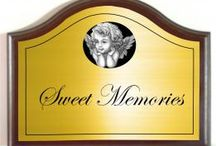 Memorial plaques / http://www.houseandgardenplaques.co.uk/memorials