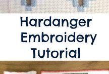Hardanger stitches and tutorials.