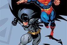 Super heroes cartoon