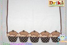 pano de prato com cupcake 2 em patch aplique