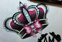 Tatuaggio Corona Regina