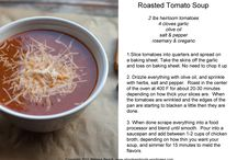 Soups / Roasted Tomato Soup