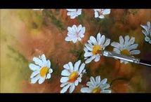 Pintura de flores