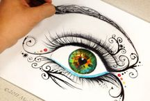 Eyes drawings