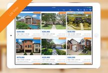 Real Estate iOS Apps from Homes.com / Homes.com is a great website to research, discover and hone in on your next home, but what if you're on the go or driving a neighborhood looking for the perfect home? Homes.com has you covered there too with top-rated apps for your iPad, iPhone or other iOS devices. / by Homes.com