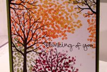 Stampin' Up! - Sheltering Tree / Stampin' up stamp set and card design