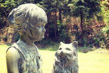 Esculturas en Sierra Lago / Estas son algunas de nuestras esculturas en Sierra Lago. ¿Ya las conoces?