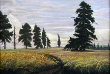 My work: Oil painting work