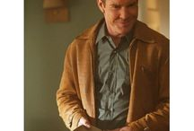 Dennis Quaid (Sheriff Ralph Lamb) Vegas Brown Jacket