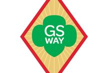 Cadette Girl Scout Way Cadette Badge / Requirements for Cadette Badge Girl Scout Way 1. Lead a group in song 2. Celebrate Girl Scout Week 3. Share sisterhood through the Girl Scout Law 4. Leave a camp better than you found it 5. Enjoy Girl Scout traditions!