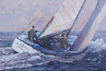 Sailing Paintings / All the painting I've done over the last 10 years