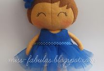 Fabulita Dolls: muñecas hechas  a mano handmade dolls