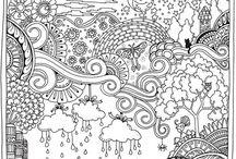 antistress coloring