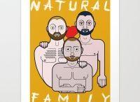 Natural Family - An LGBTQ Love Project / By Mattia Bau Vegni