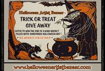 Trick or Treat Giveaway 2014 / Halloween Artist Bazaar gathered up a big bunch of goodies for a giveaway this Halloween season...here is a gallery of what's up for grabs!