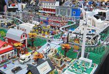 Lego - města + plány
