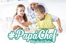 #PapáChef - Día del padre 2016 / Los mejores productos para cocinar en familia, con un  10% de descuento hasta el 19 de marzo.