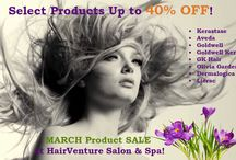 Promotions at HairVenture Salon / Spring Promotion at HairVenture Salon - Product Sale & Other Promotions