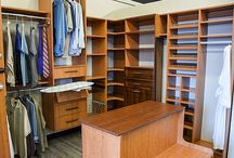 Custom Closets / Custom Closet Shelving Solutions That Tame the Chaos in the Most Elegant Way Possible.
