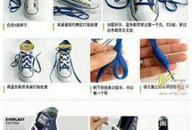 Shoelace Creativity / by Kundai BENHURA