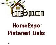 HomeExpo Pinterest Page Links / Table of Links to HomeExpo.com Pinterest Photo Gallery pages