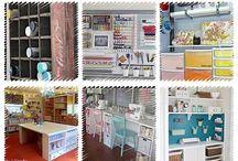 Craft room organising