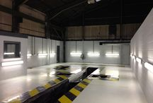MOT Truck testing Bay / Design & Build MOT Truck Testing facility