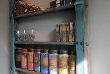 Bistro Shelves Ideas