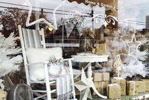Новогодние и рождественские витрины :)
