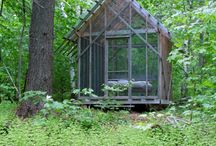 Cabin Porn / sleeping outdoors, cabins, nature