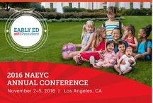 """NAEYC's 2016 Annual Conference / The National Association for the Education of Young Children's Annual Conference is the largest and most important gathering of early childhood professionals in the world. Join us November 2–5 as we head to Los Angeles, CA to advocate for """"Early Ed for President,"""" the culmination of our work to ensure that our presidential candidates recognize YOU, your profession, and the vital role you play in our society."""
