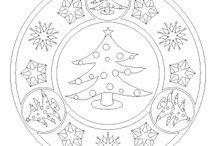 mandala karácsony