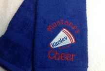 Cheerleader towels and more