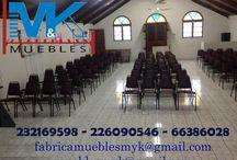 sillas templo, sillas iglesia