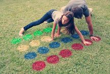 Outdoor party games and ideas