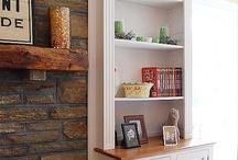 Fireplace Ideas / by Andrea Painter-Kamman