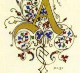 enluminure médiévale