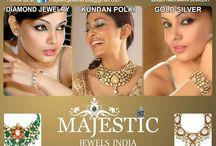 Majestic Jewels India / Majestic Jewels India is A Leading jewelry brand of India