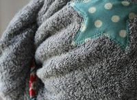 Turbans de bain / Éponge