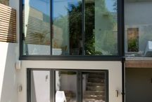 Folding / Sliding Glass Doors / Folding sliding doors (or bi-folding doors as they are also known) are a great way of opening up a room, bringing the outside in, whilst they can also be used as a single / double door to the garden.