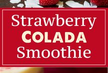 strawberry colada smoothie