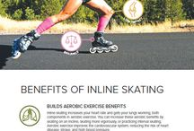 Speed in-line skate(ing)