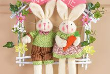 easter / Home made craft, decor , scrapbooking